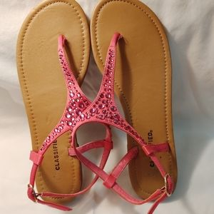 CITYCLASSIFIED SANDALS SIZE 9